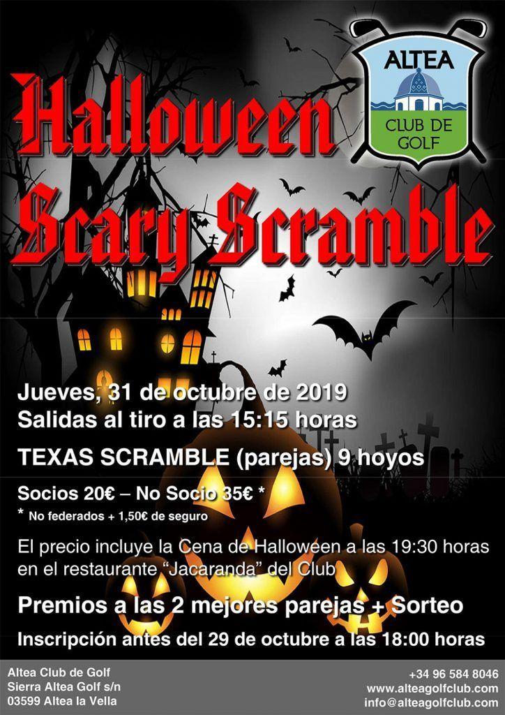 Halloween scary scramble 1