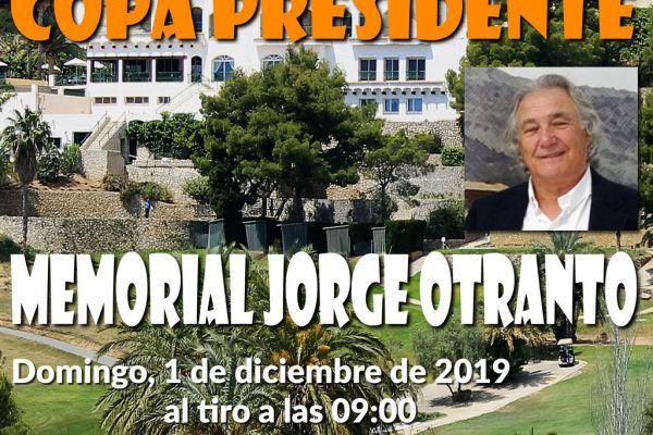president's cup. memorial jorge otranto 21