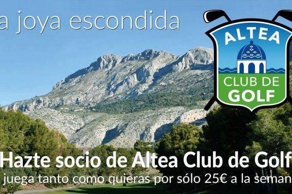 Altea Golf Costa Blanca 2019 ES