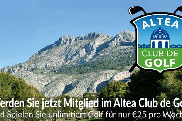 Altea Golf Costa Blanca socios DE 2019
